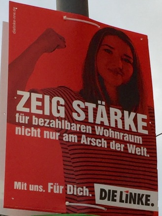 DieLinke_Plakat_NRW2017_Wohnraum